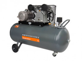 Compresor cu piston - Profesional 4kW, 630 L/min - Rezervor 270 Litri - WLT-PROG-630-4.0/270