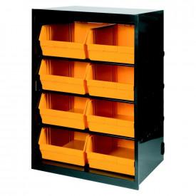 Dulap metal ArtPlast cu 8 cutii depozitare ART.105, 660x490x950mm