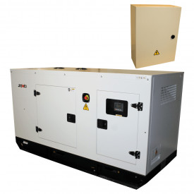 Generator stationar insonorizaT SENCI SCDE 55YS-ATS, 55 kVA, 400V, AVR, motor Diesel