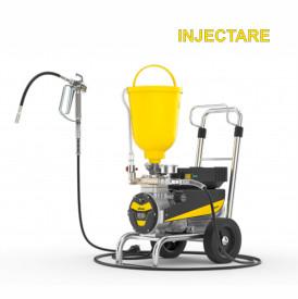 Pompa zugravit Wagner SuperFinish 23i Cart, pompa injectare materiale hidroizolante, motor electric 1,3 kW