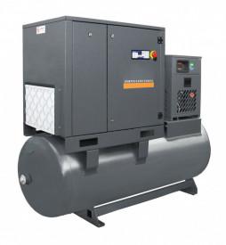 Compresor cu surub 7,5kW, 1150 L/min - Rezervor 500 Litri - WLT-7.5/500-P-COMBO