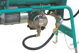 Malaxor continuu IMER Spin 15, capacitate 60 l, motor 230V, 1.4 kW, randament efectiv 15-18 l/min
