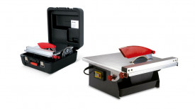 Masina de taiat gresie, faianta 520W, ND-180 230V-50Hz. cu cutie si disc extra - RUBI-25945
