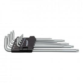 Set chei TX Torx PROJAHN varianta extra lunga T10-50 8 buc/set