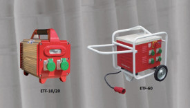 Convertizor electric de frecventa, ETF-20, 2 KVA, 2 iesiri 42 V/200 Hz (Monofazic 230 V/ 50-60 Hz) - Technoflex-141553R012