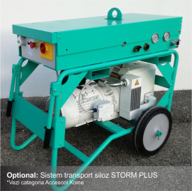 Masina de tencuit IMER Koine 4, debit material 22 l/min., motor 400V, 7.75 kW, distanta maxima de pompare 25 m
