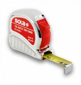 Ruletă Tri-Matic TM, 5m - Sola-50023301