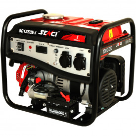SC-1250E-LITE Generator curent, Putere max. 1.0 kW, 230V, AVR, motor benzina