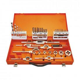 Set de filetare complet PROJAHN HSS-G, DIN 352 M3-M12, 44 buc/set