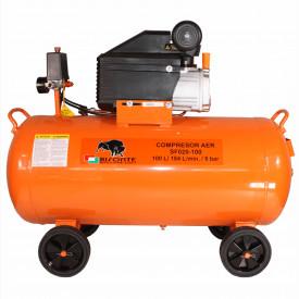 Compresor cu ulei SF020-100, debit aer 187 l/min., motor 230V