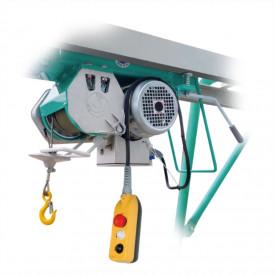 Electropalan IMER G 500, sarcina maxima 500 kg, inaltime maxima 42 m, motor 230V, 1.5 kW