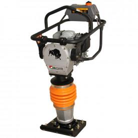 Mai compactor BISONTE MC72-H, 14 kN, motor Honda, benzina 2.8 cp, greutate 68 kg