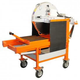 Masina de taiat caramida BISONTE KTV 650, disc 650 mm, lungime taiere 500 mm, 5.5 kWvMasina de taiat caramida BISONTE KTV 650, disc 650 mm, lungime taiere 500 mm, 5.5 kW