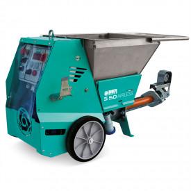Masina de tencuit IMER Small S50 Airless, debit maxim material 8,5 l/min., motor 230V, 2,2 kW