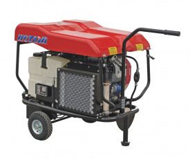 Motocompresor open, fara butelie, ROTAIR VRK 120 AE, debit 1200 l/min - 6 bari, motor B & S