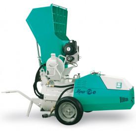 Pompa de sapa IMER Mover 270eb, motor 400V, 5.5 kW, granulometrie max. 10/15 mm, cu paleta incarcare