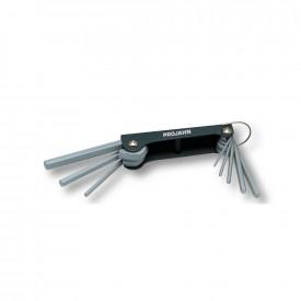 Set chei hexagonala (imbus) PROJAHN pliabile 2.5-10mm 8 buc/set