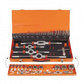 Set de filetare complet PROJAHN HSS-G, DIN 352 M3-M20, 55 buc/set