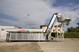 "Statie productie beton cu malaxor ""TECNOMIX"", marca SAMI, Italia"