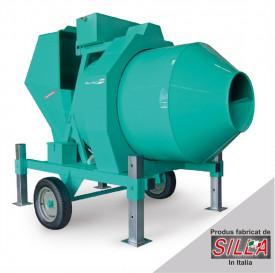 BIR 500, motor 400V, 4.1 kW, capacitate 500 l, productie beton 12 mc/ora