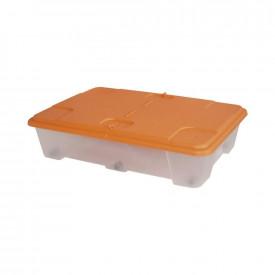 Cutie depozitare ARTPLAST Miobox cu capac portocaliu 790x590x180mm