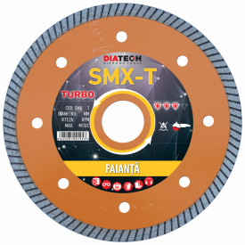 Disc diam. turbo pt. faianta SMX125T