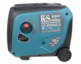 Generator de curent 4 kW inverter - benzina - insonorizat - Konner & Sohnen - KS-4000iEG-S