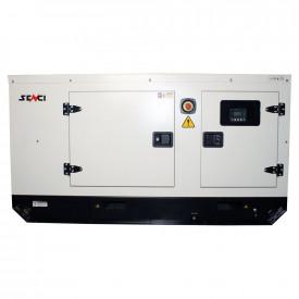 Generator stationar insonorizat SENCI SCDE 19YS-ATS, 19 kVA, 400V, AVR, motor Diesel