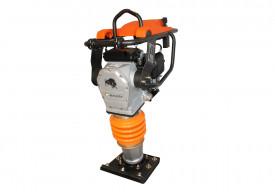 Mai compactor BISONTE MC75-H, 13.7 kN motor Honda, benzina 3.5 cp, greutate 72 kg
