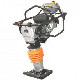Mai compactor BISONTE MC80-L, 10.7 kN, motor Loncin, benzina 5.5 cp, greutate 79 kg