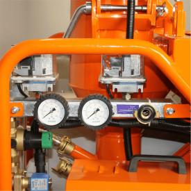 Masina de tencuit BISONTE PCS-K35, monofazica 230V, debit material 5-20 l /min, distanta maxima de pompare pana la 30m*