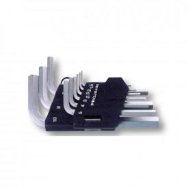 Set chei hexagonala (imbus) PROJAHN varianta scurta 1.5-10mm 9 buc/set