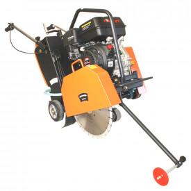 Bisonte Masina de taiat asfalt MTA400-L, motor Loncin, benzina 9 cp, greutate 90 kg