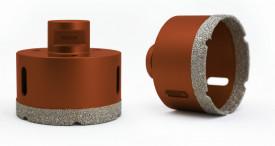 Carota diamantata pt. gresie portelanata & piatra - diam. 120mm - Profesional Standard - DXDY.REDrill.120