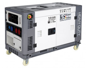 Generator de curent 11 kW diesel - Heavy Duty - insonorizat - Konner & Sohnnen - KS-14-2DE-1/3-ATSR-Silent