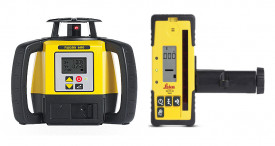 Nivela Laser Rotativa Rugby 680 - Leica (Continut:: Pachet Complet (vezi continut in descriere))