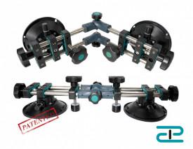 Sistem de fixare si ajustare multi-unghi, cu 2 ventuze cu vaccum pt. placi ceramice - BIHUI-LFTFV6