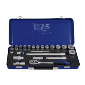 "Trusa de chei tubulare industriale Xi-on 1/2"" PROJAHN, 10-32 mm, 23 componente/set"
