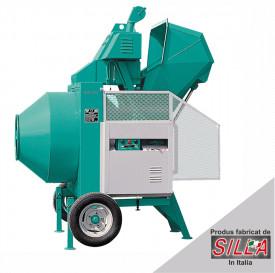 BIR 400, motor 400V, 3.0 kW, capacitate 400 l, productie beton 8 mc/ora