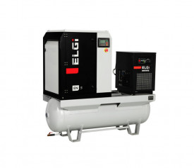 Compresor cu surub si uscator ELGI EN07, 1100l/min