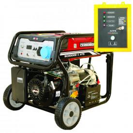 Generator SC-8000-ATS, Putere max. 7.0 kw, 230V, AVR, motor benzina