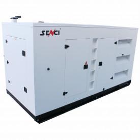 Generator stationar insonorizat SENCI SCDE 312YCS-ATS, 312 kVA, 400V, AVR, motor Diesel