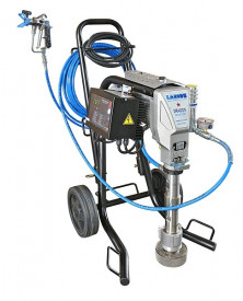 Pompa de vopsit / zugravit AIRLESS Industriala cu Carucior - Complet Echipata - 5L/min - Larius Dragon