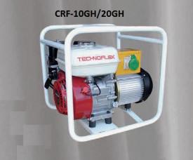 Convertizor de inalta frecventa, CRF-20GH, motor Honda benzina 5,5 Hp (4 T), 2,0 KVA, 2 iesiri 42 V/200hz, Sasiu Metalic - Technoflex-141154R042