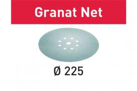 Hartie de slefuit reticular Festool STF D225 P400 GR NET/25 Granat Net
