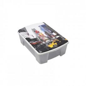 "Cutie depozitare ArtPlast MIOBOX ""NEW YORK"" cu capac 565x390x180 mm"