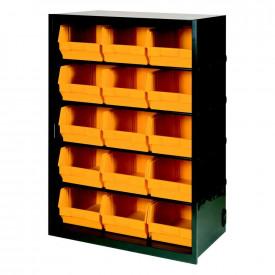 Dulap metal ArtPlast cu 15 cutii depozitare ART.104, 658x370x950mm