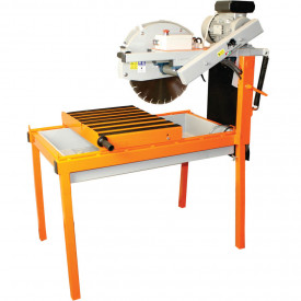 Masina de taiat caramida BISONTE KTV 400Ei, disc 400 mm, lungime taiere 450 mm, 2.2 kW