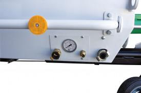 Pompa beton IMER Booster 15, capacitate de pompare 2-15 m³/h, granulometrie maxima 25 mm, motor diesel, 28.4 cp