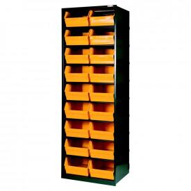 Dulap metal ArtPlast cu 18 cutii depozitare ART.105, 660x490x1900mm